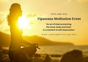 Vipassana Meditation Event