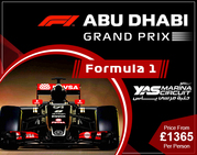 Book Holiday Packages To Abu Dhabi Grand Prix from UK